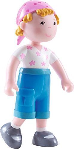 "HABA Little Friends Vreni - 4"" Bendy Girl Doll Figure with B"