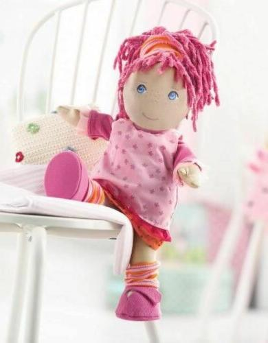 "HABA Little Scamp 12"" Doll with Pink"