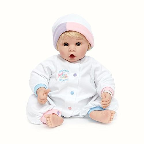 Light Eyes/Blonde Baby Doll, Multicolor