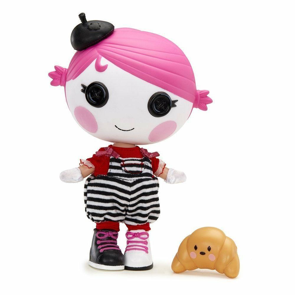 "Lalaloopsy Littles Charades Doll w/ Pet 7"""