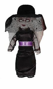 Living Dead Doll Mini Series 5 4in. Ms. Eerie w/ noose keych