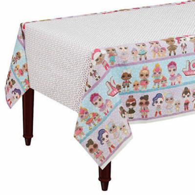 Lol Surprise Dolls Paper Table Cover Girls Birthday Party Su