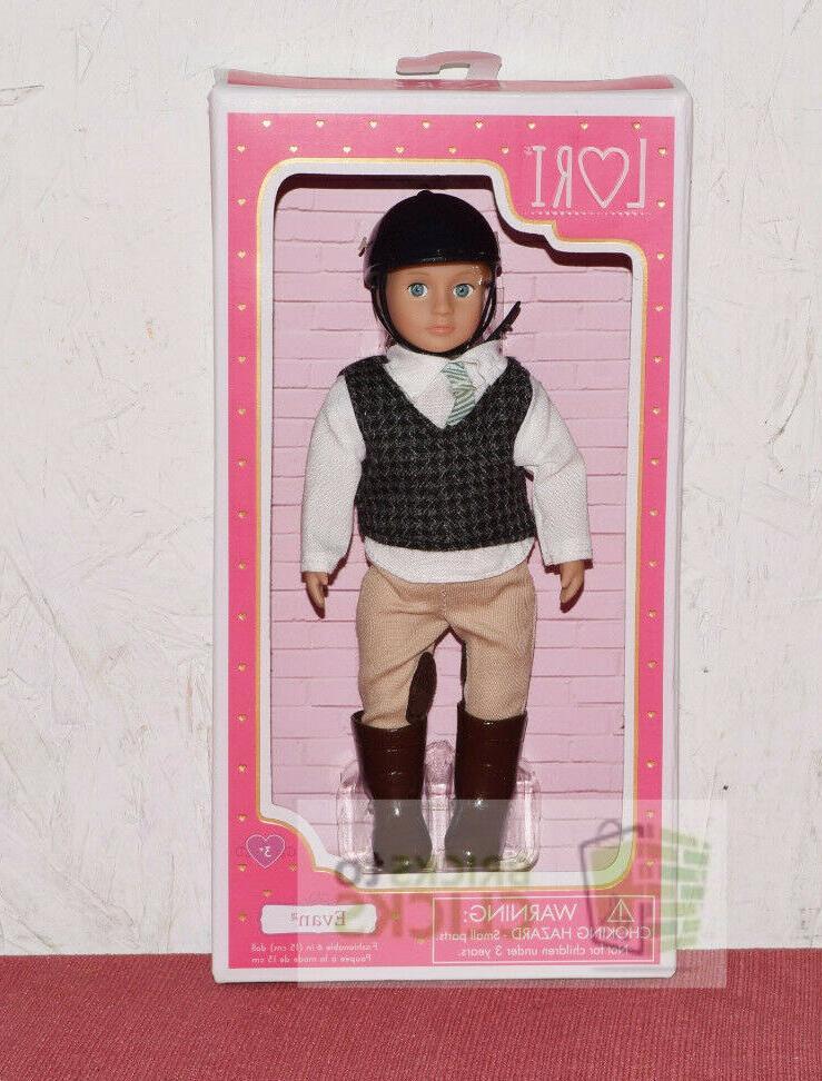 lori 6 doll riding evan