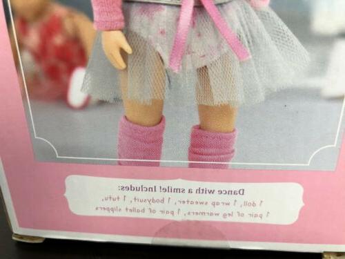 """Battat Doll 6"""" Ballet Ballerina Doll NEW"""