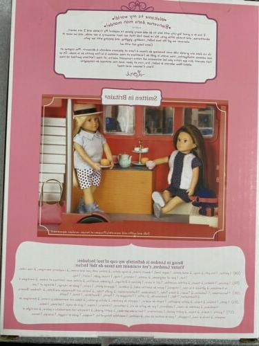 Battat Doll SMITTEN WITH BRITAIN SET In Box