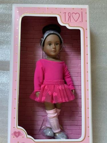 LORI Battat 6 Inch Doll Ballerina Dancer Pink Tutu Outfit