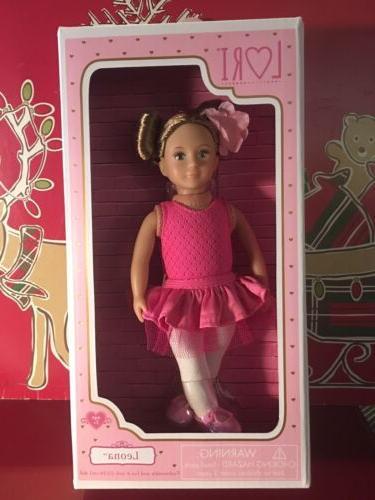 lori our generation 6 leona ballerina doll