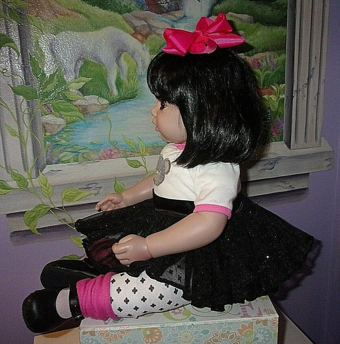 """LOVELY 20"""" WEIGHTED TODDLER GIRL DOLL"""