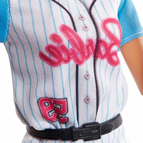Barbie Made to Baseball Doll