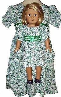 Matching Dress for Girl and Dolls Size 6