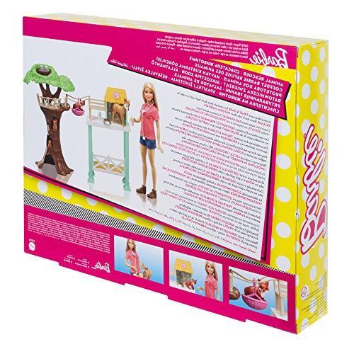 Mattel Barbie Animal Playset