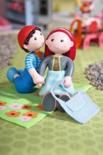 HABA - Doll Figure with Overalls