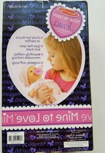 To Love Jenna Baby Doll New