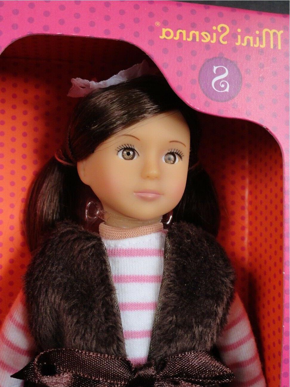 mini 6 our generation doll sienna dark