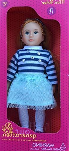 Our Generation mini Arlee doll 6 inch red haired