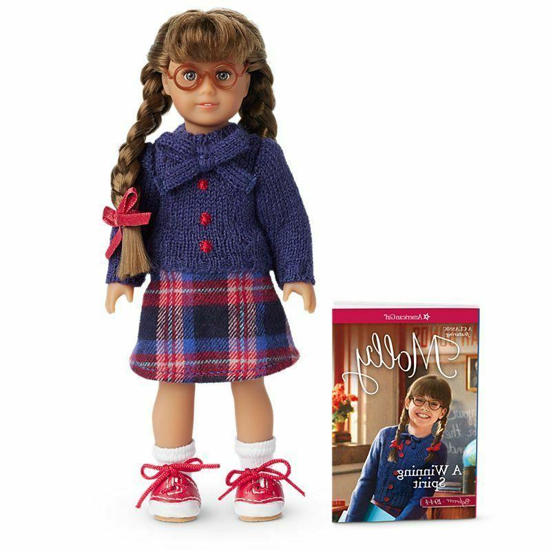 molly mini doll and mini book brand
