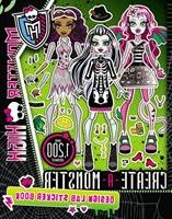 Monster High:  Create-a-monster Design Lab Sticker Book