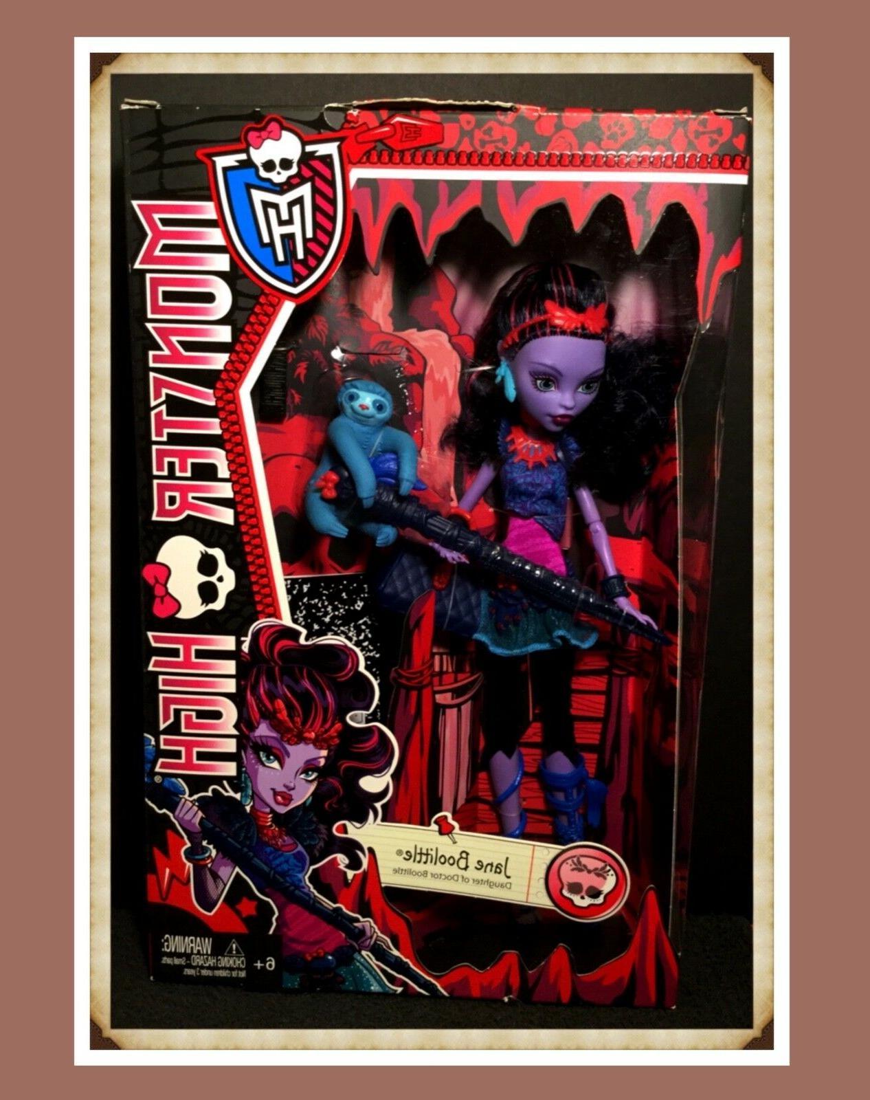 monster high doll jane boolittle basic original