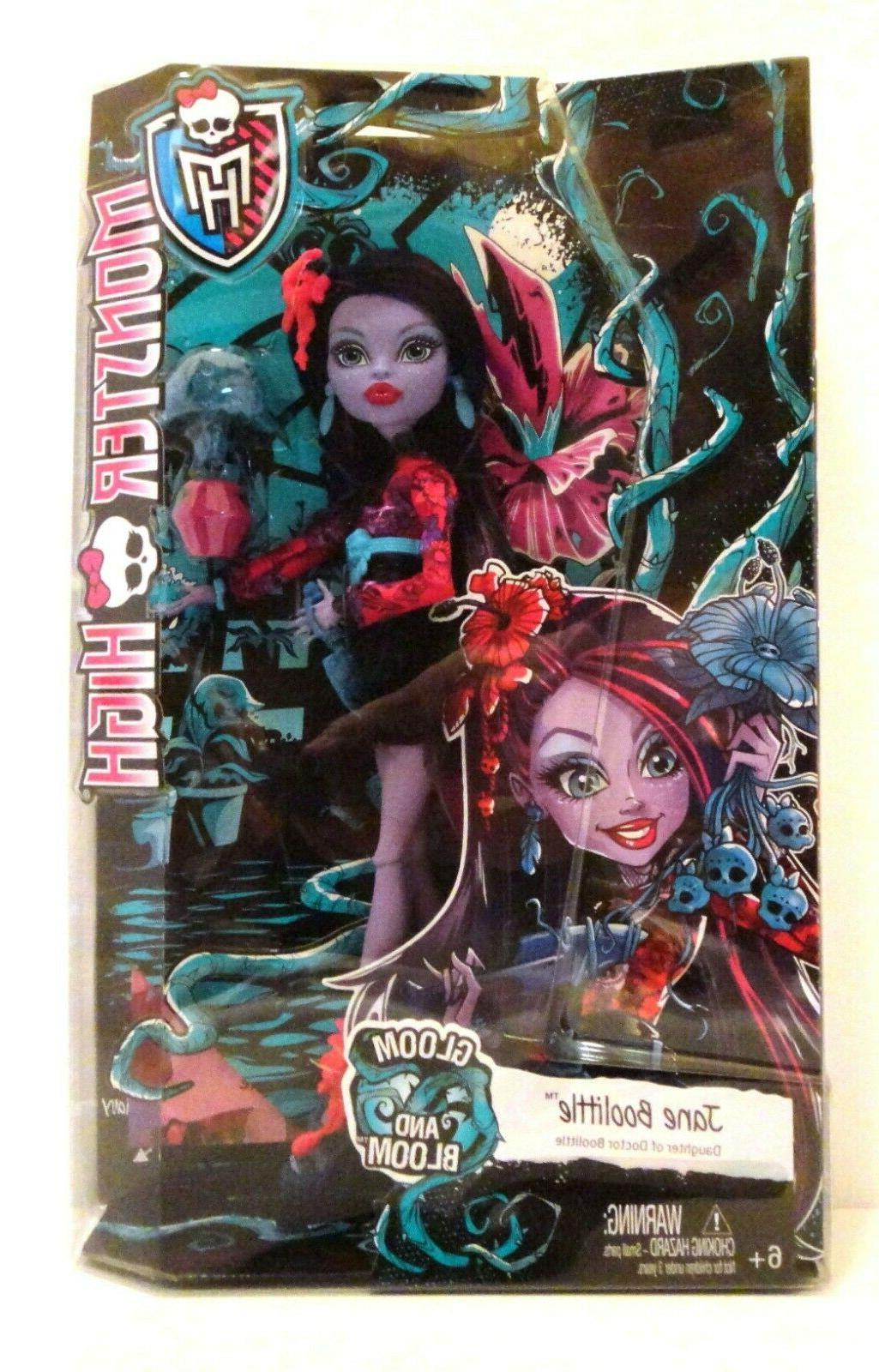 monster high gloom and bloom jane boolittle