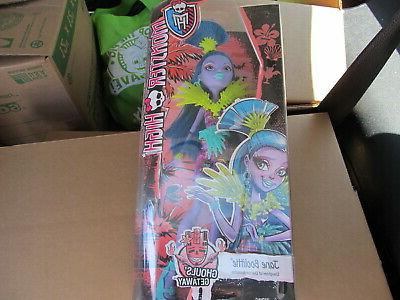 monster high jane boolittle new in box