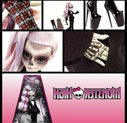MONSTER HIGH DOLL-NRFB- CHROMATICA PICTURE DISC