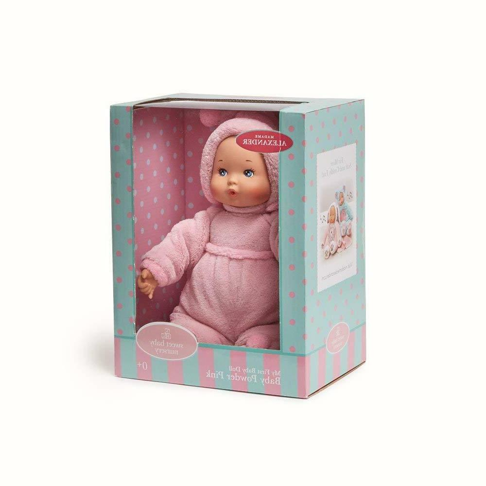My First Baby Pink Alexander 12'' Doll New NRFB