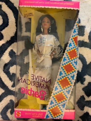 native american barbie dolls of the world