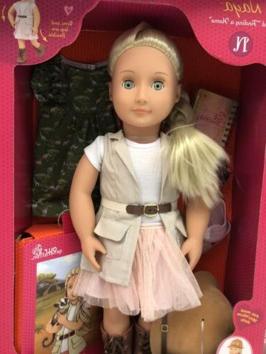 new 18 inch naya doll finding a