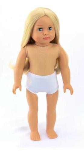 new 18in doll emma she comes undressed