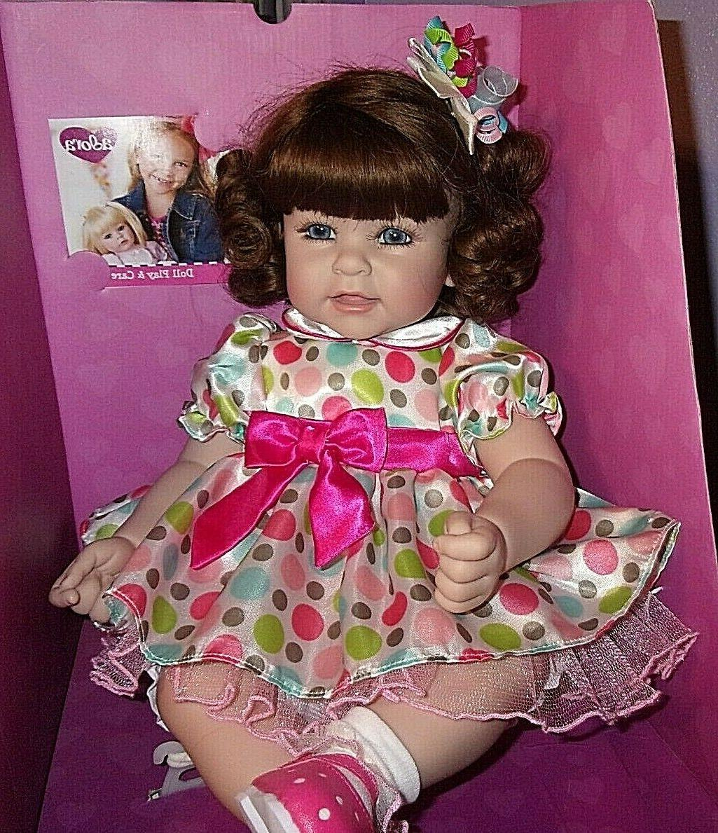 new 20 weighted toddler time doll seeing