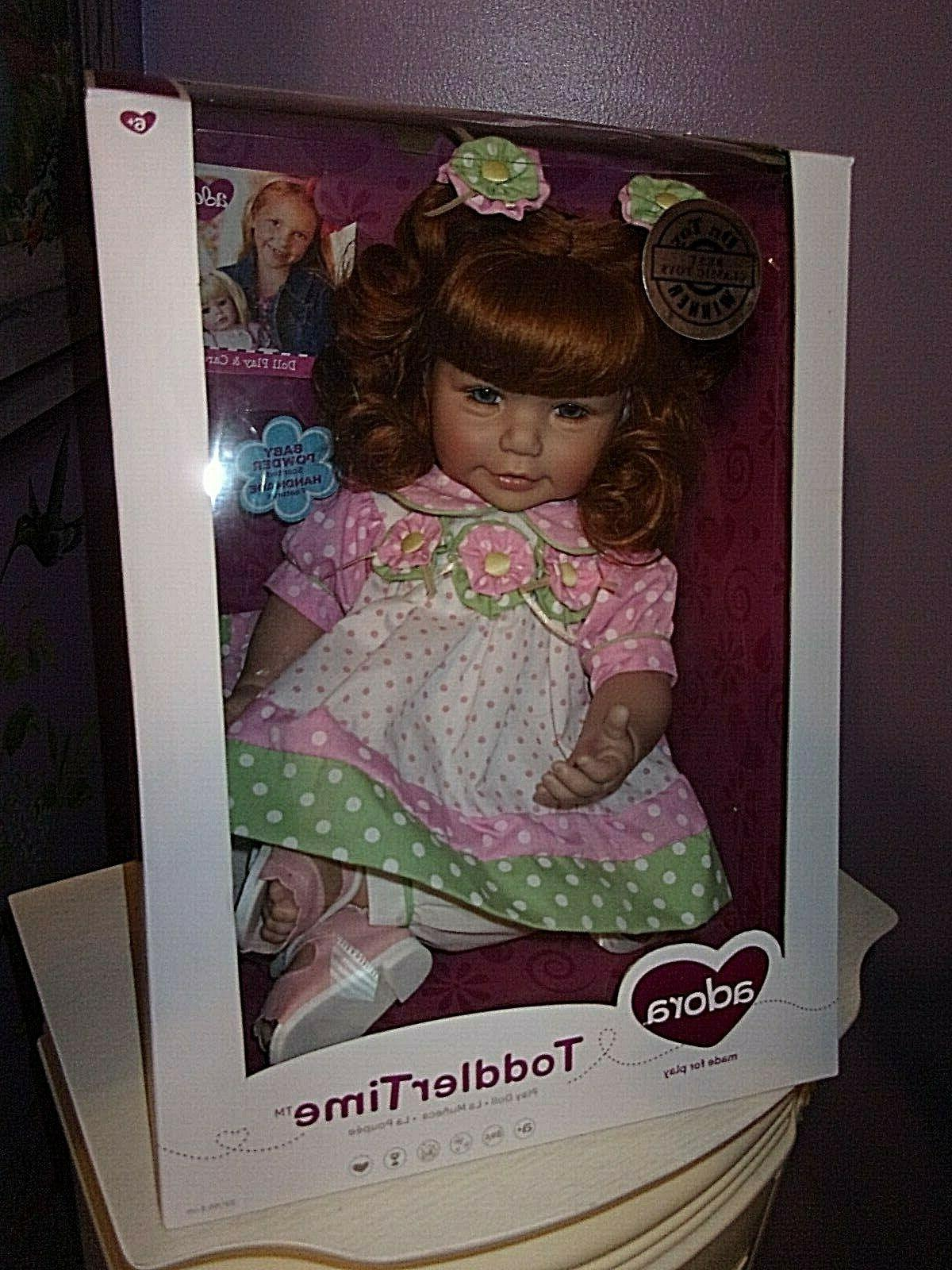 """NEW 20"""" TODDLER TIME DOLL FRUITY"""
