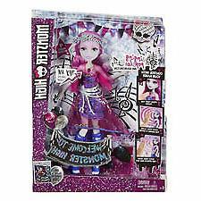New 504028  Mattel Monster High Singing Pop Star  Action Che