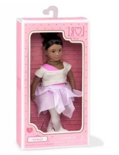 new lori cyarra 6 ballerina doll doll