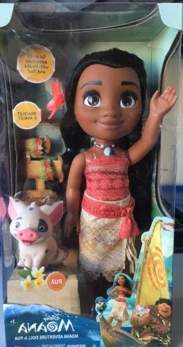 new moana adventure 14 doll and pua