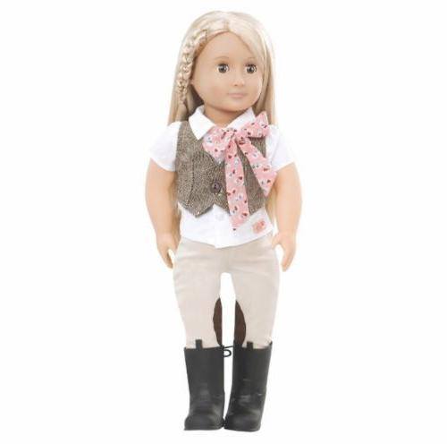 new our generation leah 18 doll horseback