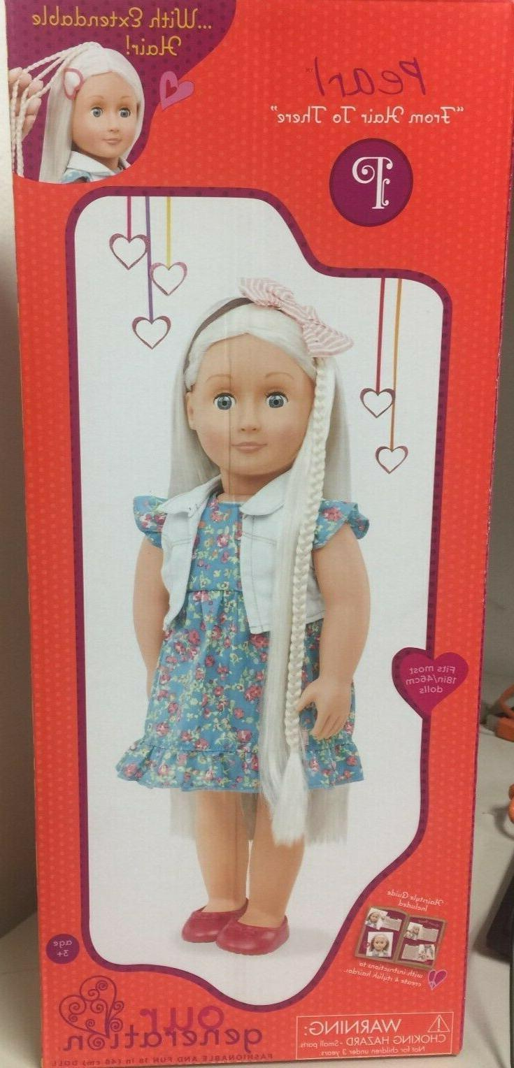 new our generation pearl 18 inch doll