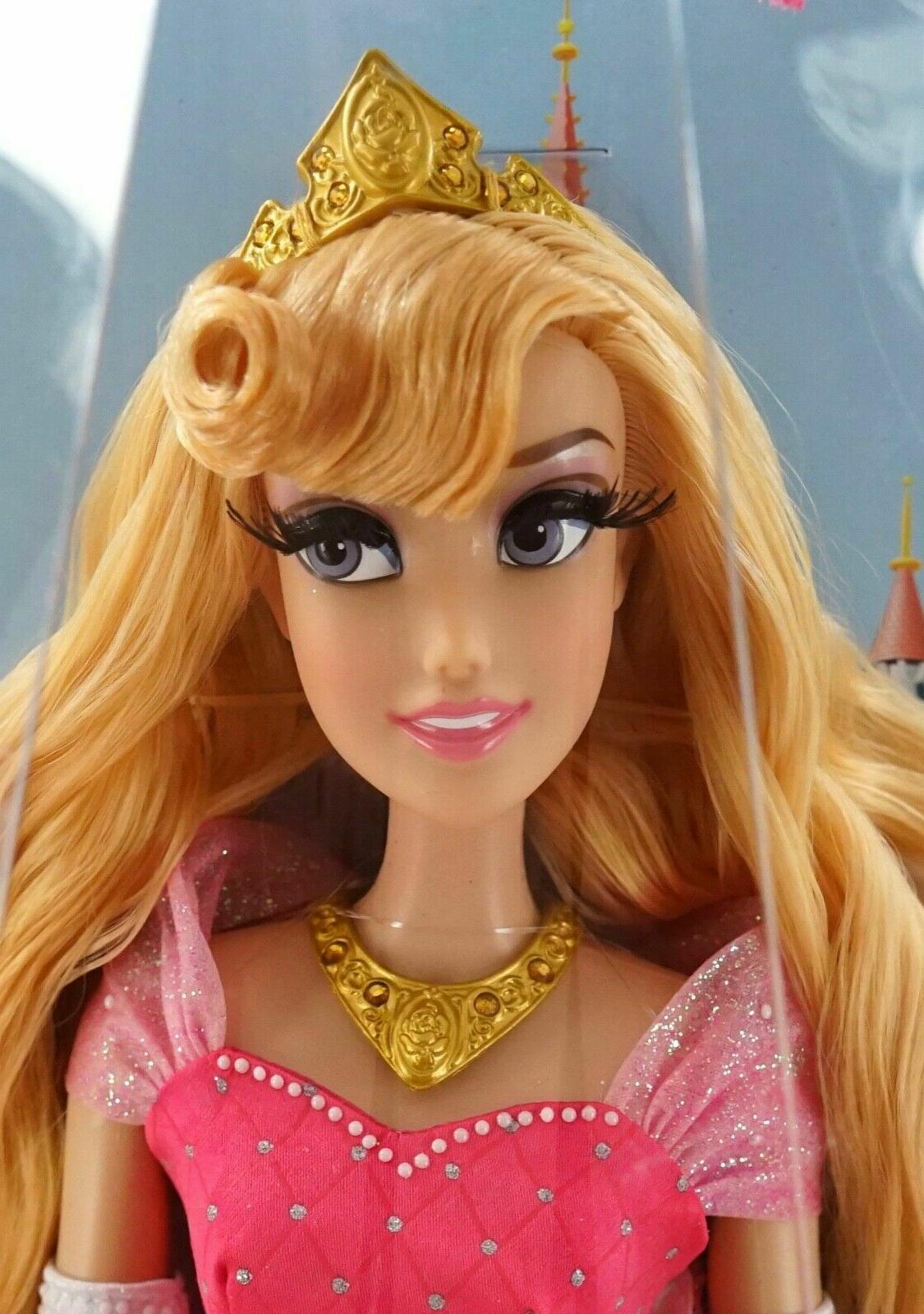 NEW Parks Diamond Castle Aurora Doll LE