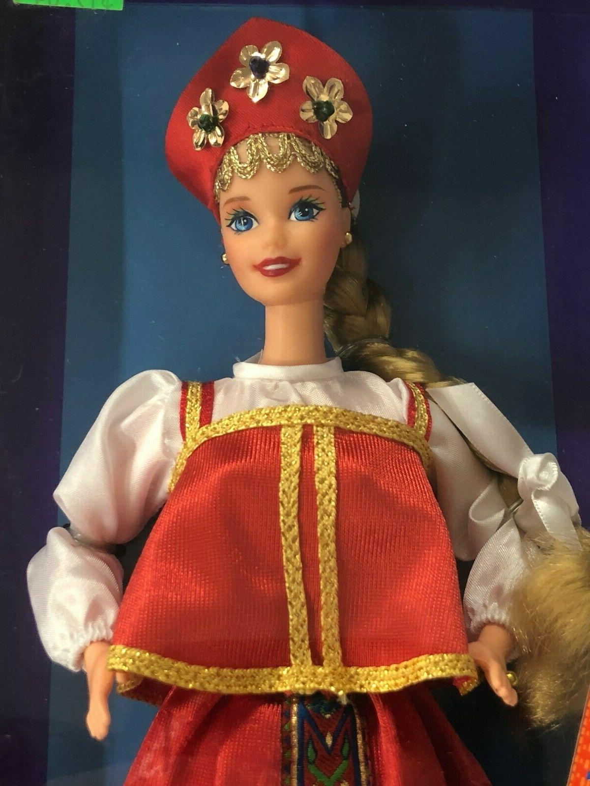*NEW* RUSSIAN BARBIE DOLLS OF THE WORLD 1996 SPECIAL
