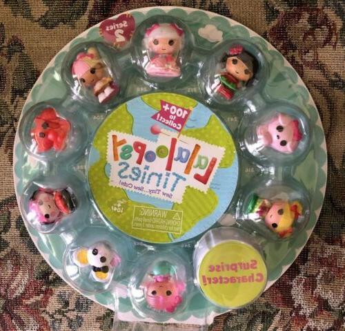 nip lalaloopsy tinies 10 pack dolls series