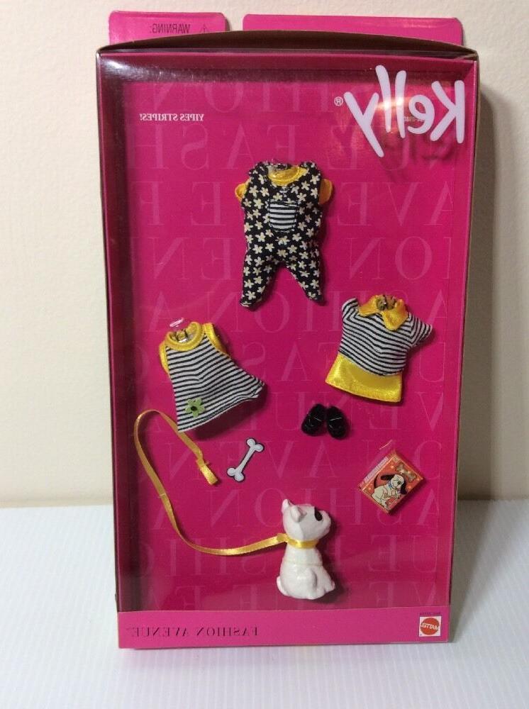 "NRFB KELLY FASHION AVENUE OUTFIT ""Yipes Mattel 1999"