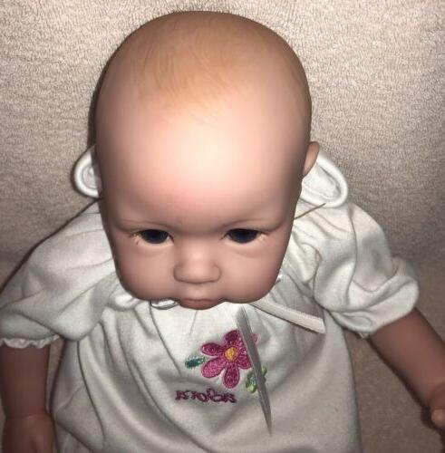 "Adora Time Baby Doll Light Skin Blue Eyes 16"""