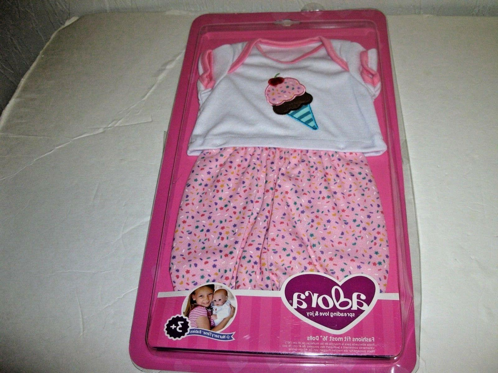 nursery time doll ice outfit