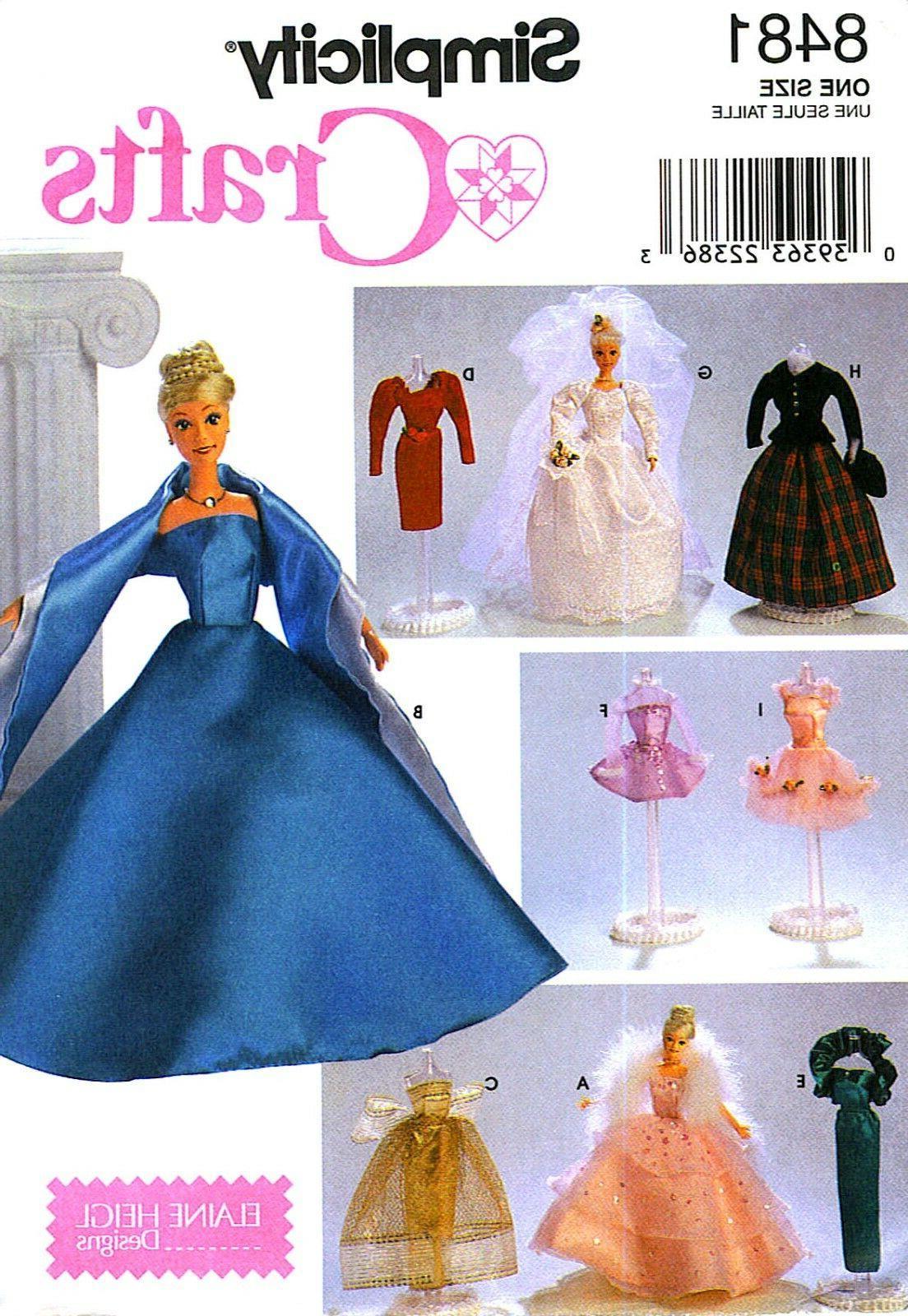 oop 1112 dolls princess bride ballerina gowns