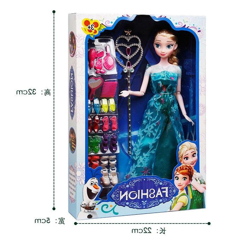 Original box High Anna And Boneca 29cm <font><b>Doll</b></font> Fever Princess Clothes For <font><b>Dolls</b></font> figures Toys Child
