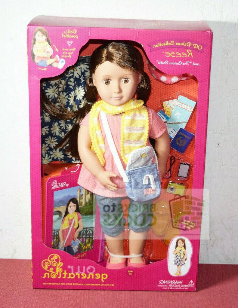 our generation 18 doll deluxe collection reese