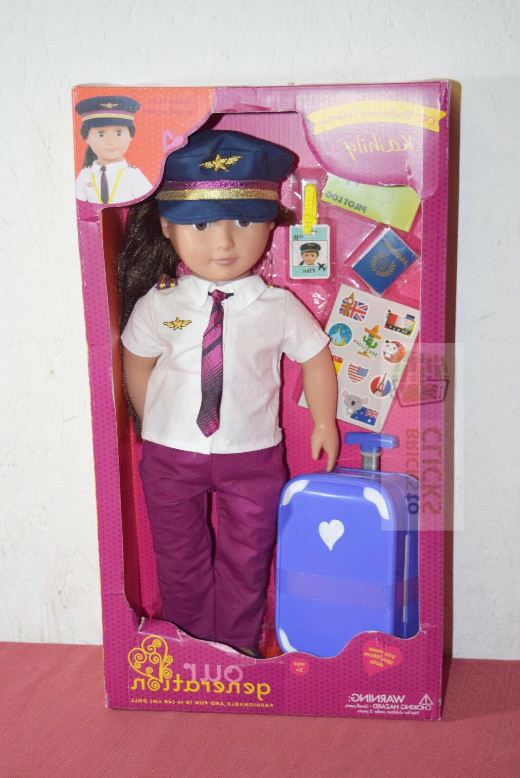 our generation 18 doll kaihily professional collection