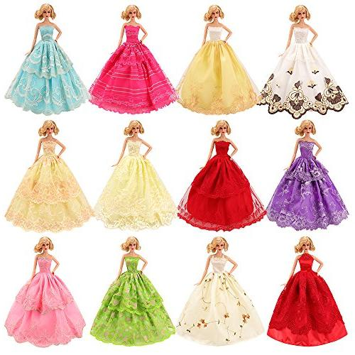 BARWA Pcs Handmade Doll Clothes Certified for inch