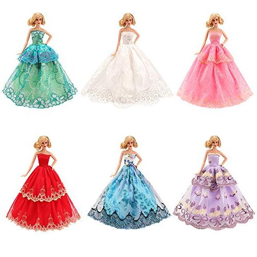 BARWA 5 Handmade Doll Clothes Europe for inch