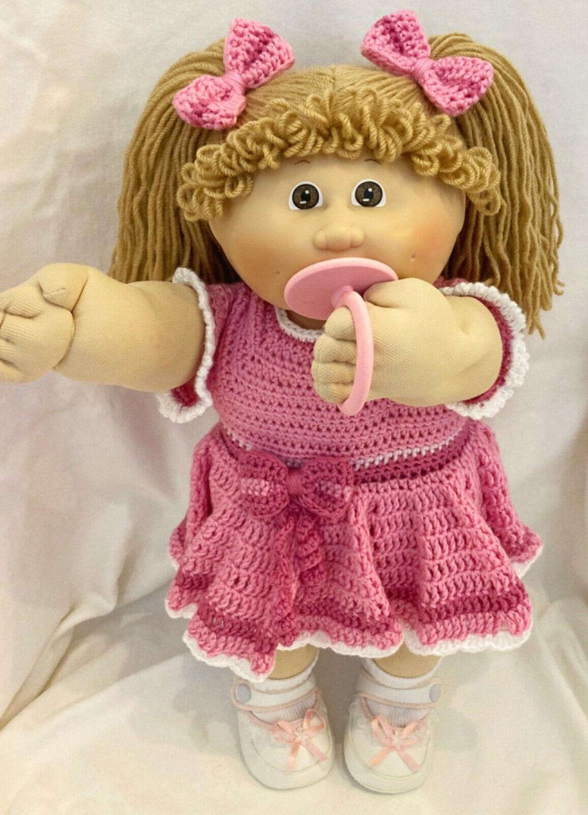 Pacifier Cabbage Patch Custom Set of 4 Pastels