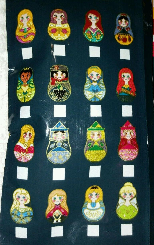Disney Pin DOLLS Mystery Random SEALED Set 5